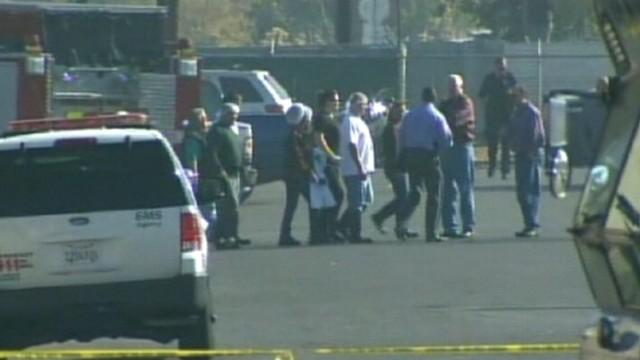 VIDEO: Gunman, identified as Lawrence Jones, 42, fatally shot himself in the head after rampage in Fresno.