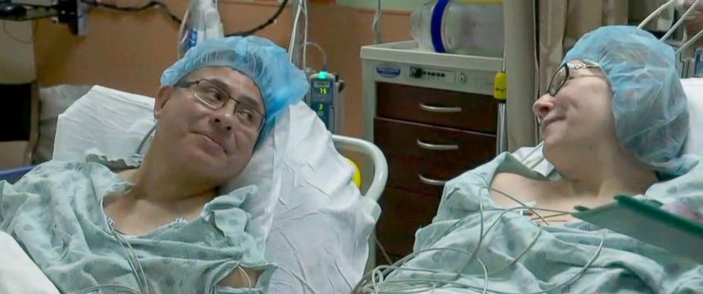 PHOTO: Cesar Calle gave his wife Monica a kidney.