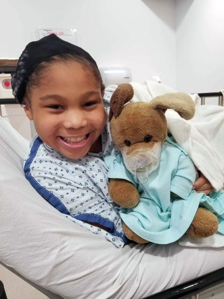 PHOTO: Eva, 10, pictured in an undated handout photo, is battling a rare kidney disease and will have to have a transplant.