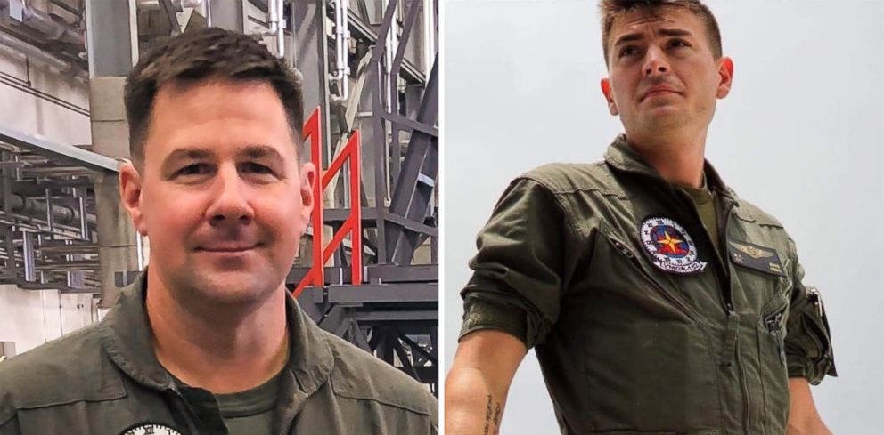PHOTO: Lt. Col. Kevin R. Herrmann of New Bern, N.C. and Cpl. William C. Ross of Hendersonville, Tenn., were two of the five Marines killed aboard a KC-130 refueling tanker when it collided with a fighter jet off the coast of Japan on Dec. 5, 2018.