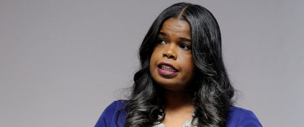 PHOTO: Cook County States Attorney Kim Foxx speaks at a news conference, in Chicago, Feb. 22, 2019.