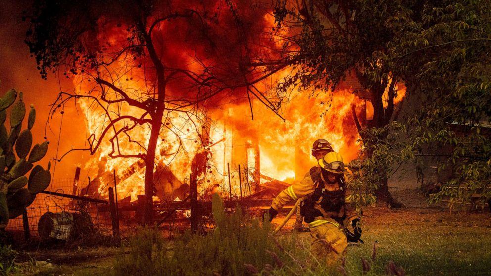 'Hier starten': Northern California wildfire begann in der Nähe von PG