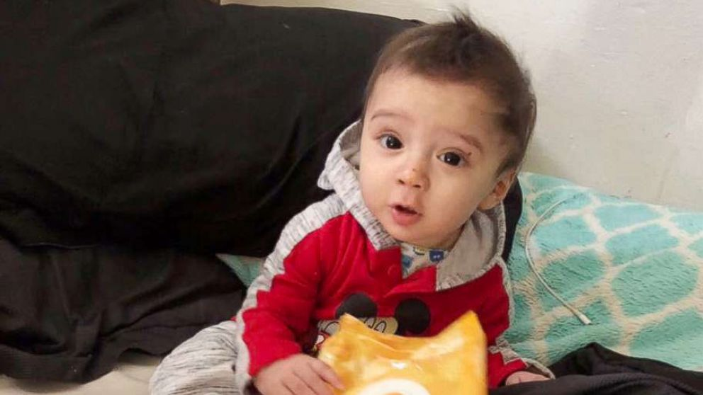 The San Antonio Police Department released this photo as they search for 8-month-old King Jay Davila, believed to be a victim of foul play.