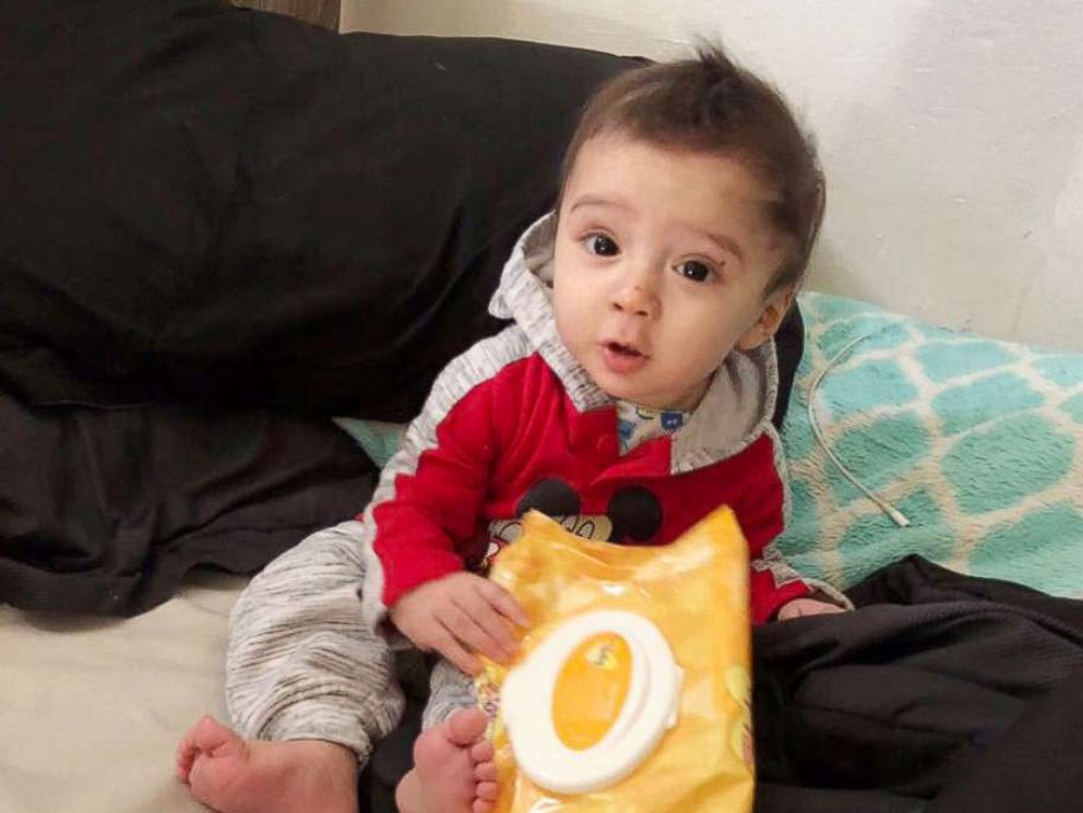PHOTO: The San Antonio Police Department released this photo as they search for 8-month-old King Jay Davila, believed to be a victim of foul play.