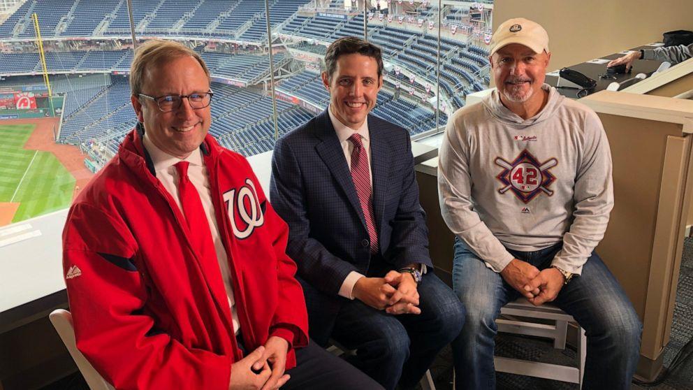 Washington Nationals' GM auf, es in die World Series, und zum ersten mal seit 1933