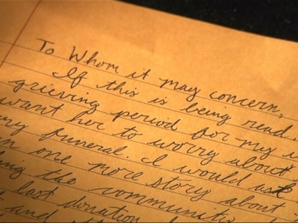 photo shortly after her husband passed away ashley whisenhunt found a stash of letters