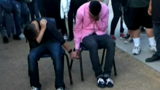 VIDEO: Teenage students in Arizona punished with public humiliation instead of suspension.