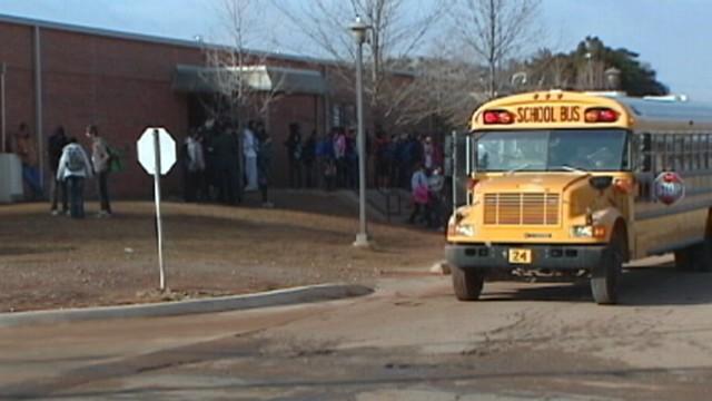 VIDEO: Oklahoma high school student took photo of teacher napping on the job.