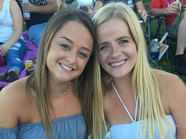 PHOTO: Ally Kostial, right, who was found dead on July 20, 2019, is pictured with Casey Hendrickson in this undated photo.