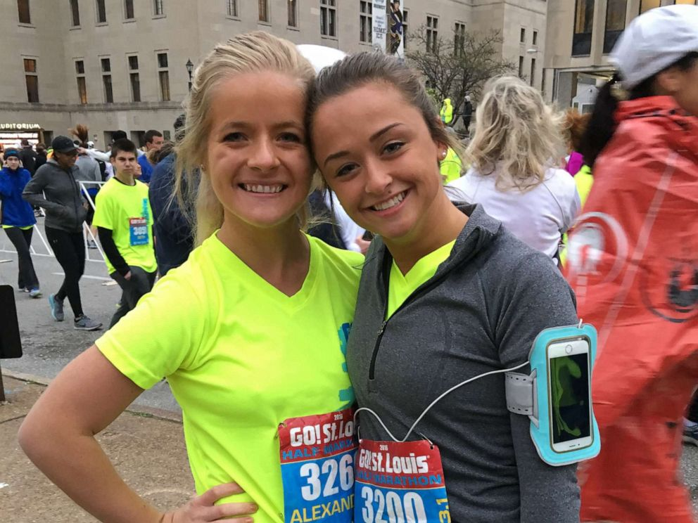 "PHOTO: Alexandria ""Ally"" Kostial, left, who was found dead on July 20, 2019, is pictured with Casey Hendrickson in this undated photo."
