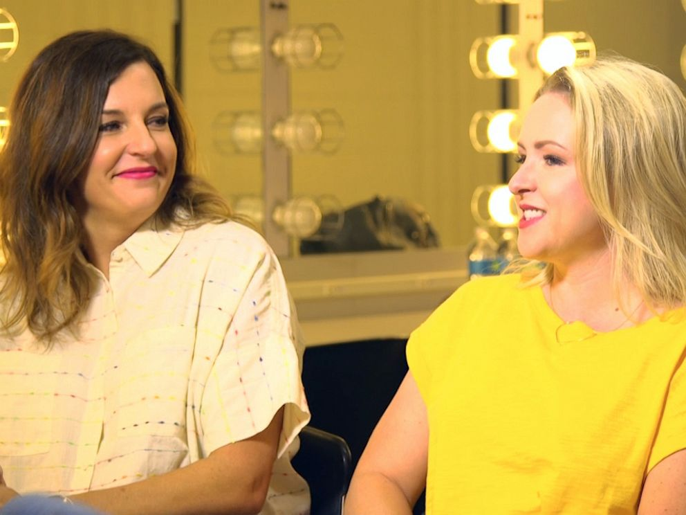 PHOTO: Moms Kristin Hensley, left, and Jen Smedley create videos together, racking up over 200 million views, and now have a comedy special on Amazon right now.