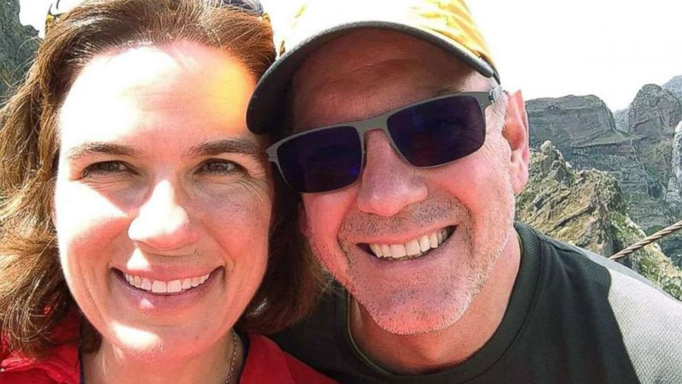 Kristin Westra, 47, is pictured with her husband, Jay Westra.