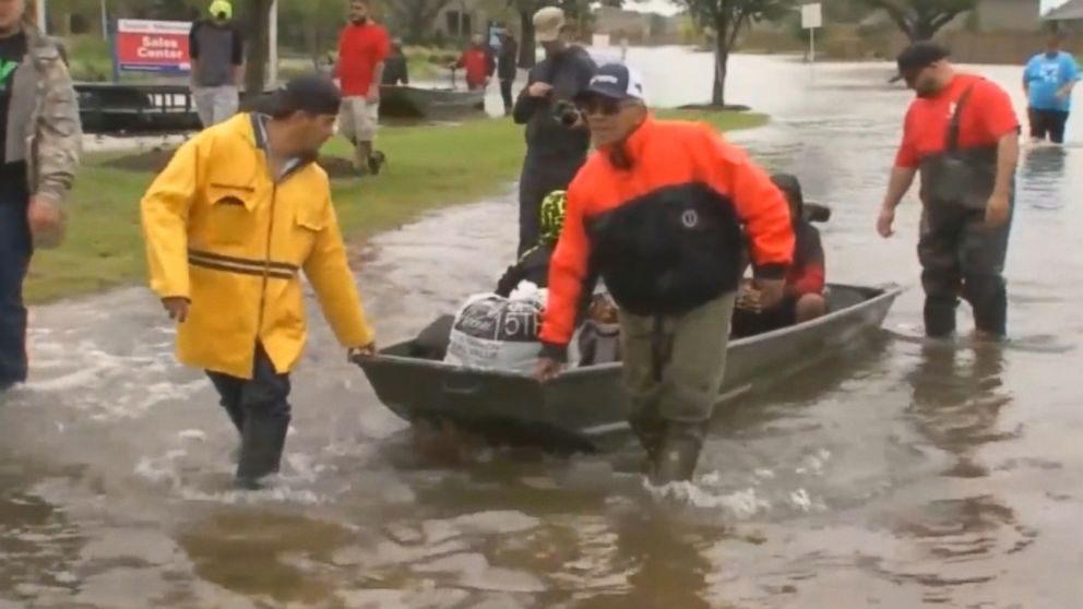 Armed with boats and air mattresses, Cajun Navy rescues 160 trapped by Florence