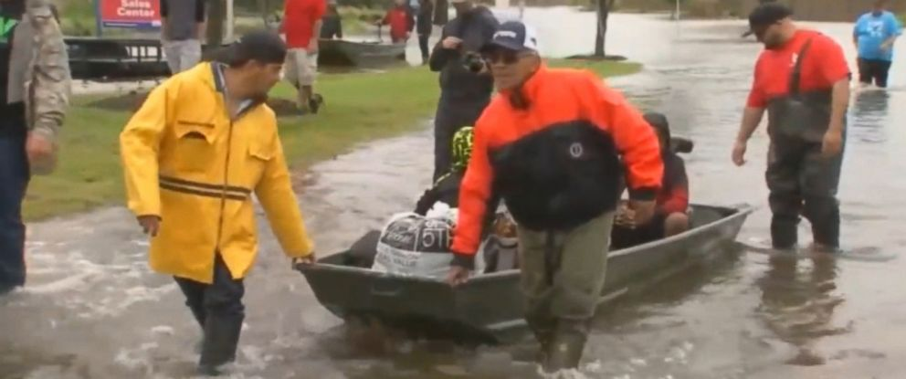 PHOTO: The Cajun Navy provided volunteers for Hurricanes Harvey in Houston, as well as Hurricane Irma in the Florida Keys and Hurricane Marine in Puerto Rico, during the 2017 season.