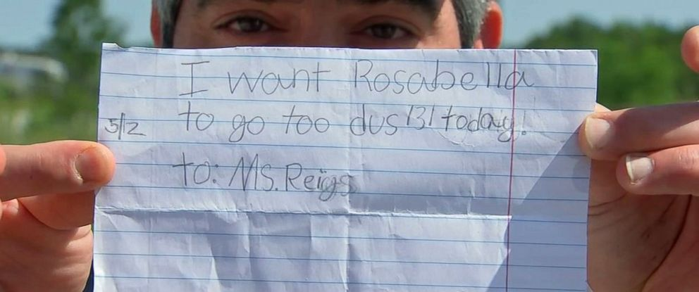7 Year Old Writes Excuse Note Goes Home From School Abc News