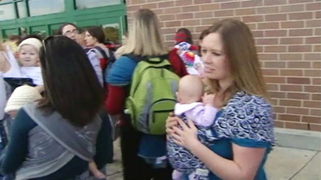 Breastfeeding at Target: Moms Stage National Demonstration