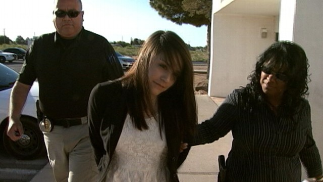 VIDEO: The Texas woman, 19, is accused of fraudulently collecting money.