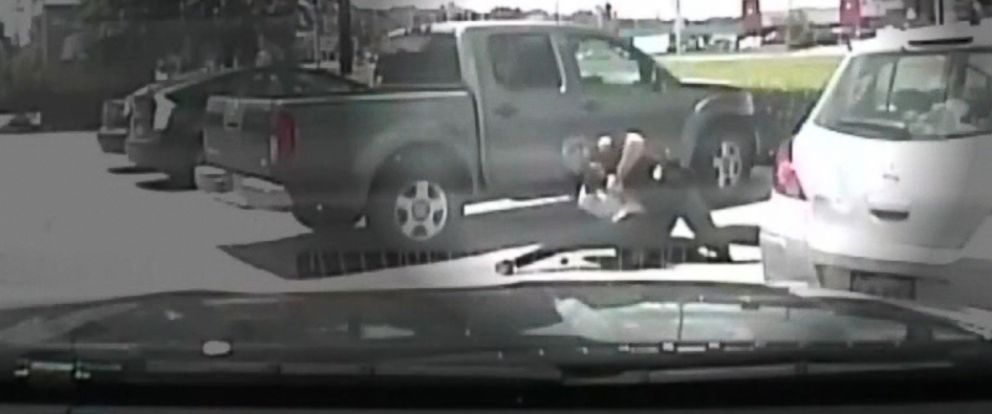 PHOTO: The Austin Police Department has released police dash-cam video from June 15, 2015, that appears to show an officer, identified by authorities as Bryan Richter, take down 26-year-old Breaion King, during a traffic stop.