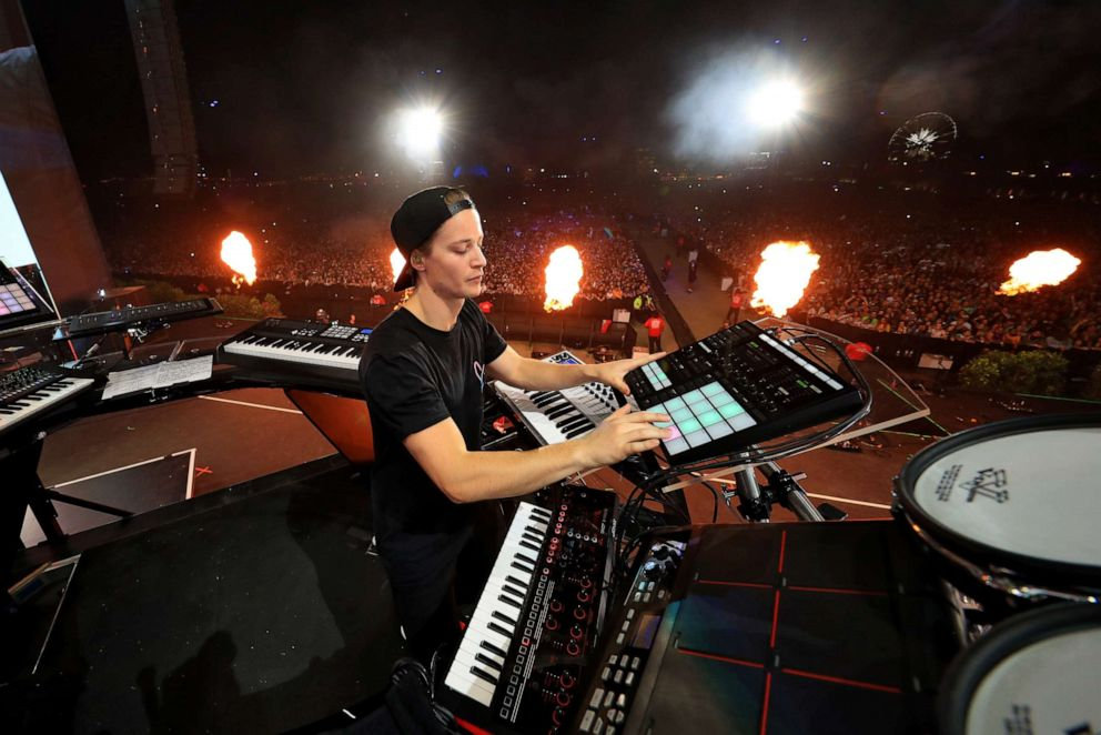 PHOTO: Kygo performs onstage during the 2018 Coachella Valley Music And Arts Festival at the Empire Polo Field, April 20, 2018, in Indio, California.