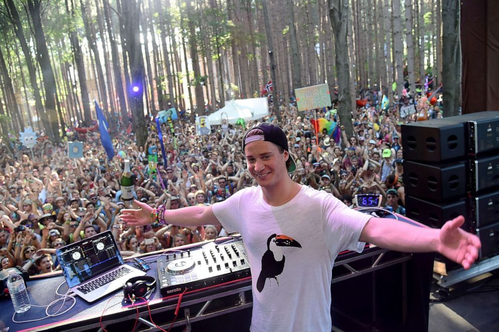 PHOTO: Kygo performs during day 4 of the 2014 Electric Forest Festival, June 29, 2014, in Rothbury, Michigan.