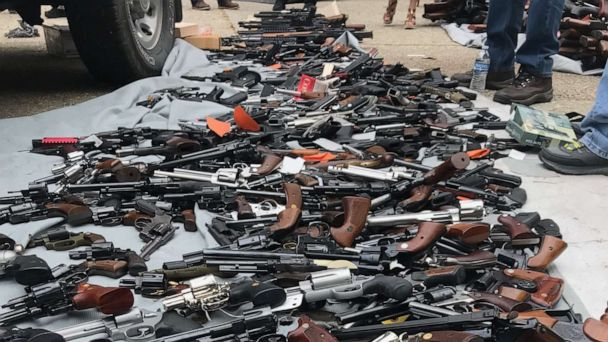 Police seize over a thousand guns, piles of ammunition from Los Angeles home