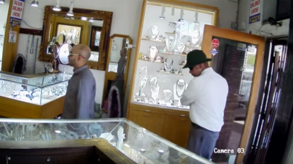 The Los Angeles Police Department has released surveillance footage of a May 25, 2018, attempted robbery in Studio City, Calif. in hopes the public can help identify the suspects.