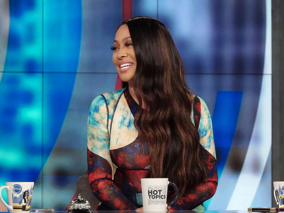 PHOTO: La La Anthony dishes about the final season of her show Power during her appearance on The View, Oct. 10, 2019.