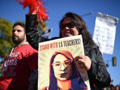 Tentative deal reached in LA teachers strike offers higher salaries, smaller classes