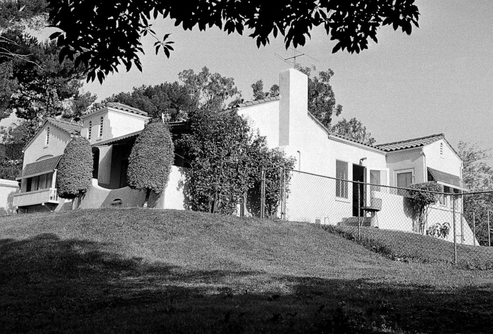 PHOTO: The Hilltop home in Los Angeles Los Feliz district where Mr. and Mrs. Leno A. LaBianca were found murdered is pictured, Aug. 11, 1969.