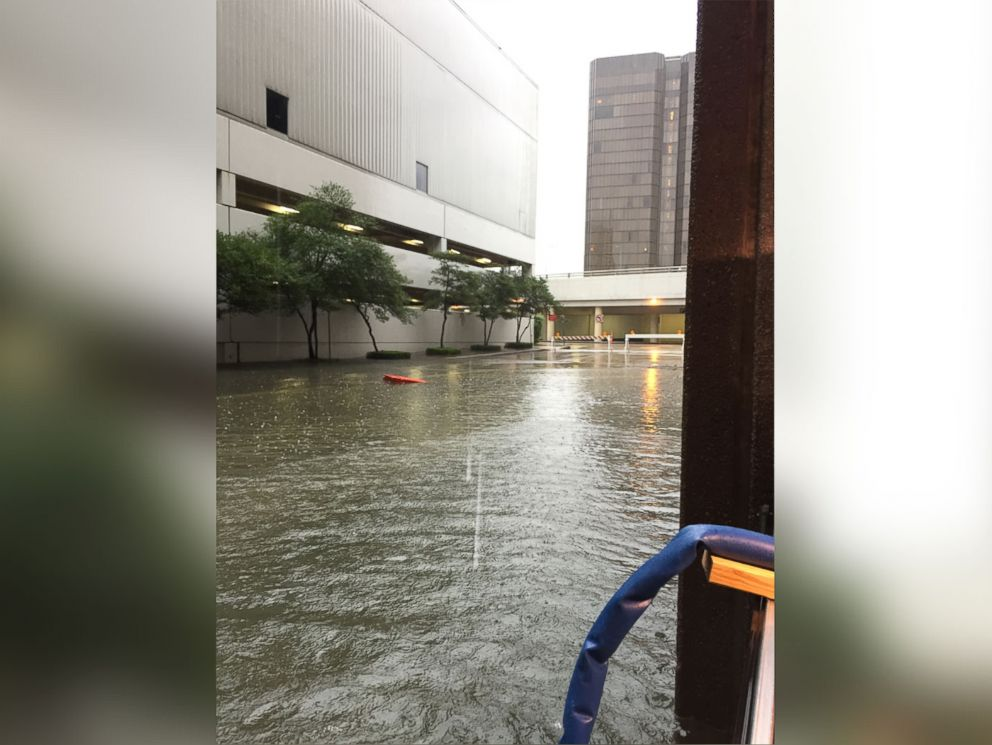 PHOTO: Photos that Lakewood Church says show flooding in and around the church.