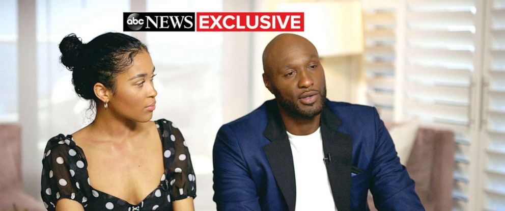 PHOTO: Lamar Odom and his daughter Destiny spoke about his addiction recovery with ABC News Juju Chang.