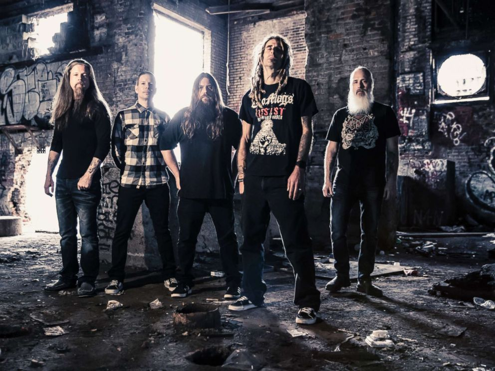 The rock band Lamb of God is pictured in a handout photo.