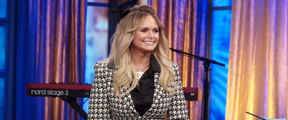 """PHOTO: Singer Miranda Lambert talks about her new album and marriage on """"The View"""" Friday, Nov. 1, 2019."""