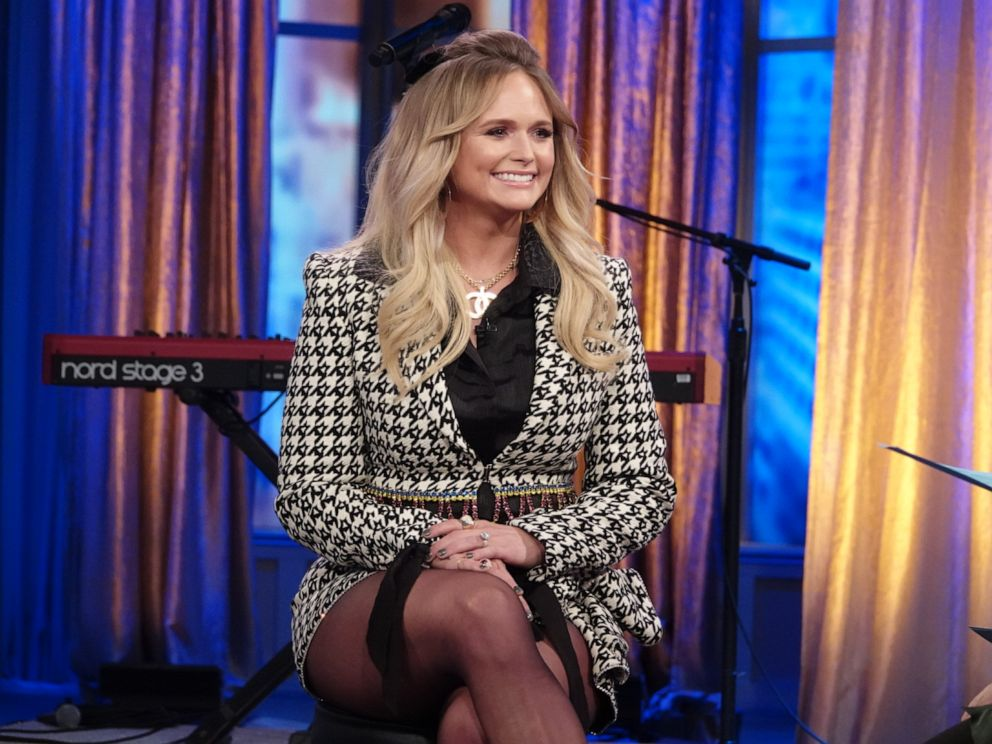 PHOTO: Singer Miranda Lambert talks about her new album and marriage on The View Friday, Nov. 1, 2019.