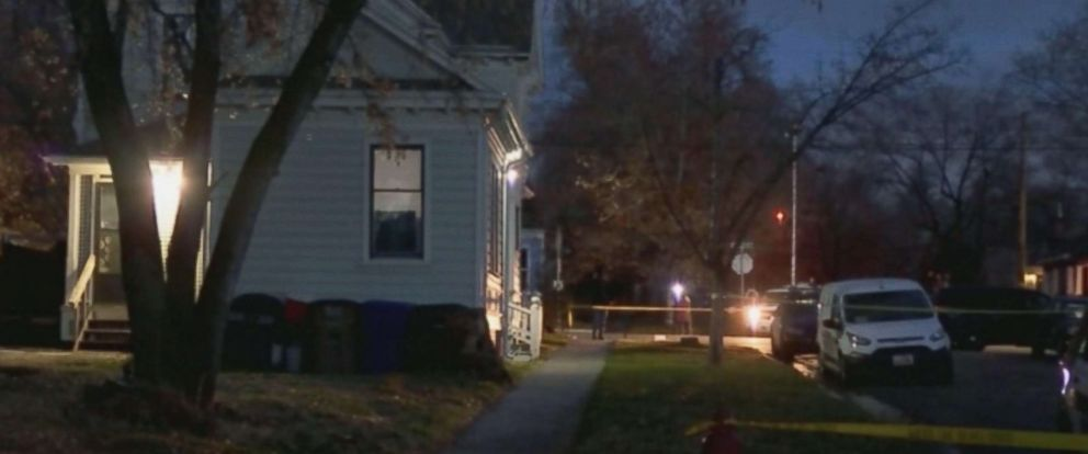 PHOTO: Crime scene tape at the house where the body of David Stokoe, a landlord police believe was shot to death in a dispute over rent was found in Salt Lake City, Utah.