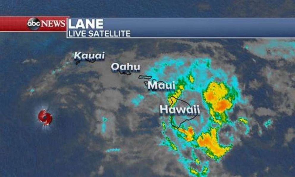 Rain will linger over the Hawaiian Islands through Monday.