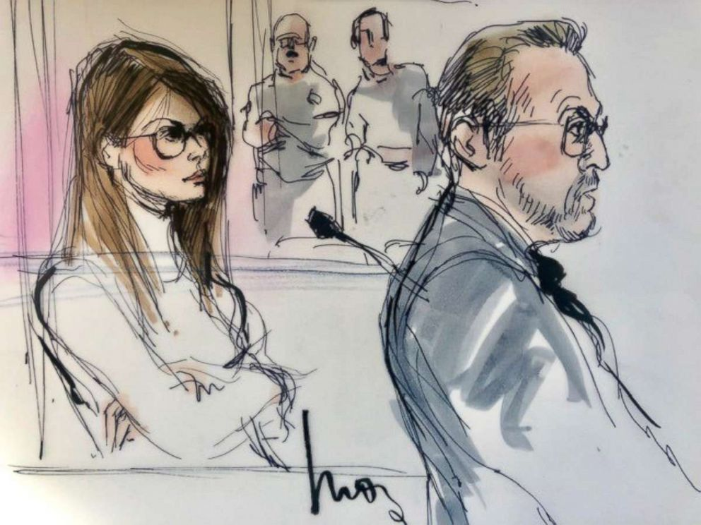 PHOTO: Lori Loughlin appears in court on March 13, 2019.
