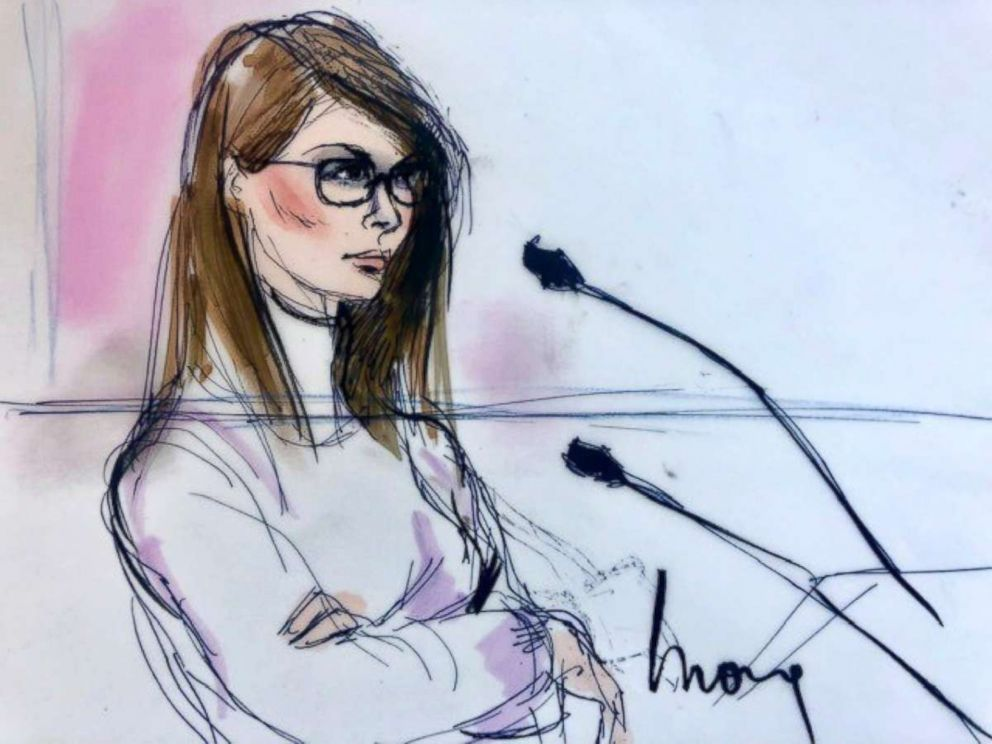 Lori Loughlin appears in court, March 13, 2019.