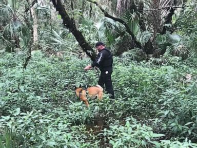 Darkness pauses search of 'vast' preserve for boyfriend of missing 22-year-old