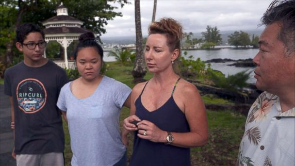 Family described 'rain' of volcanic rock as Hawaiian boat tour hit by lava bomb