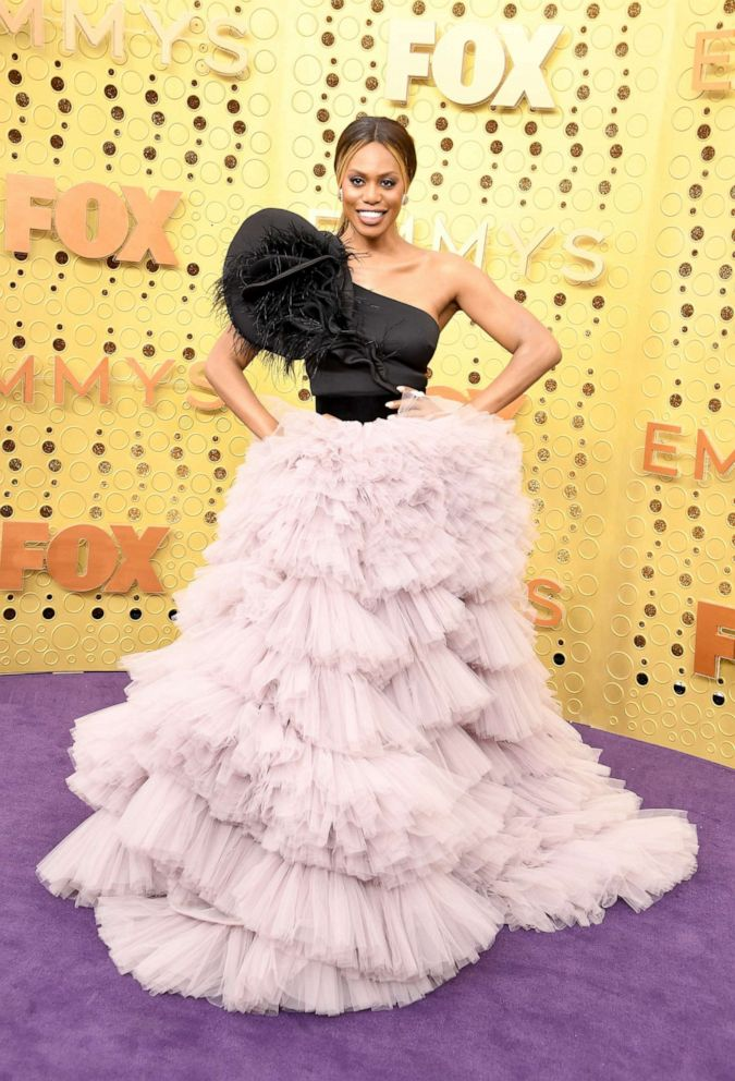 PHOTO: Laverne Cox attends the 71st Emmy Awards at Microsoft Theater on September 22, 2019 in Los Angeles, California.