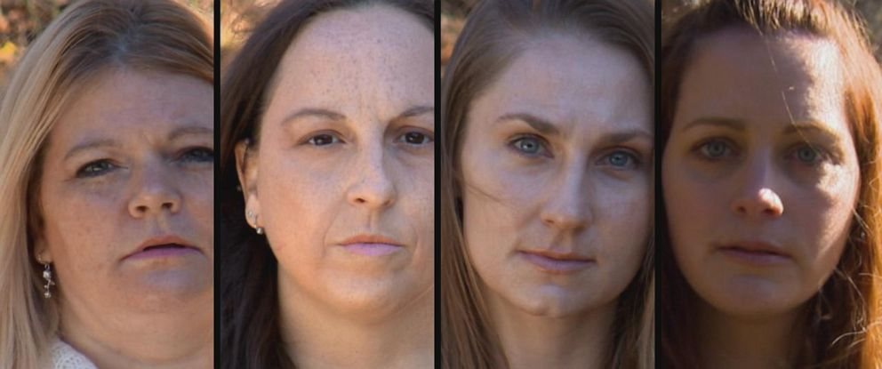 PHOTO: These four women and two other families filed a civil lawsuit against the Church of Jesus Christ of Latter-day Saints alleging they failed to warn or protect them from a sexual predator