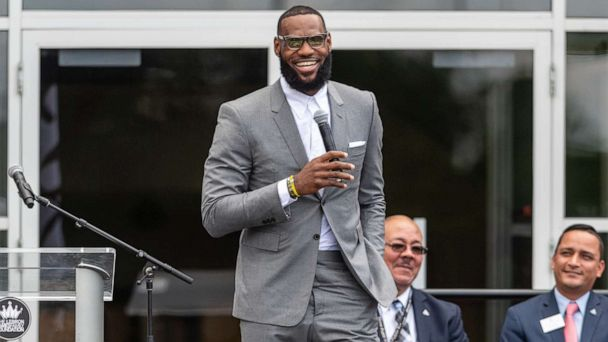 LeBron James' school to build transitional housing for students' families in need