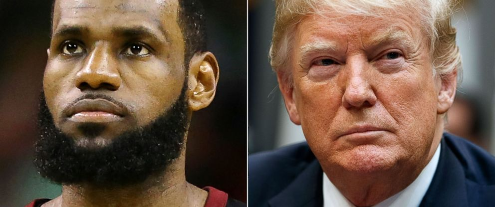 44602f33ad2 What bothers me is that he has time   LeBron James says of Trump ...