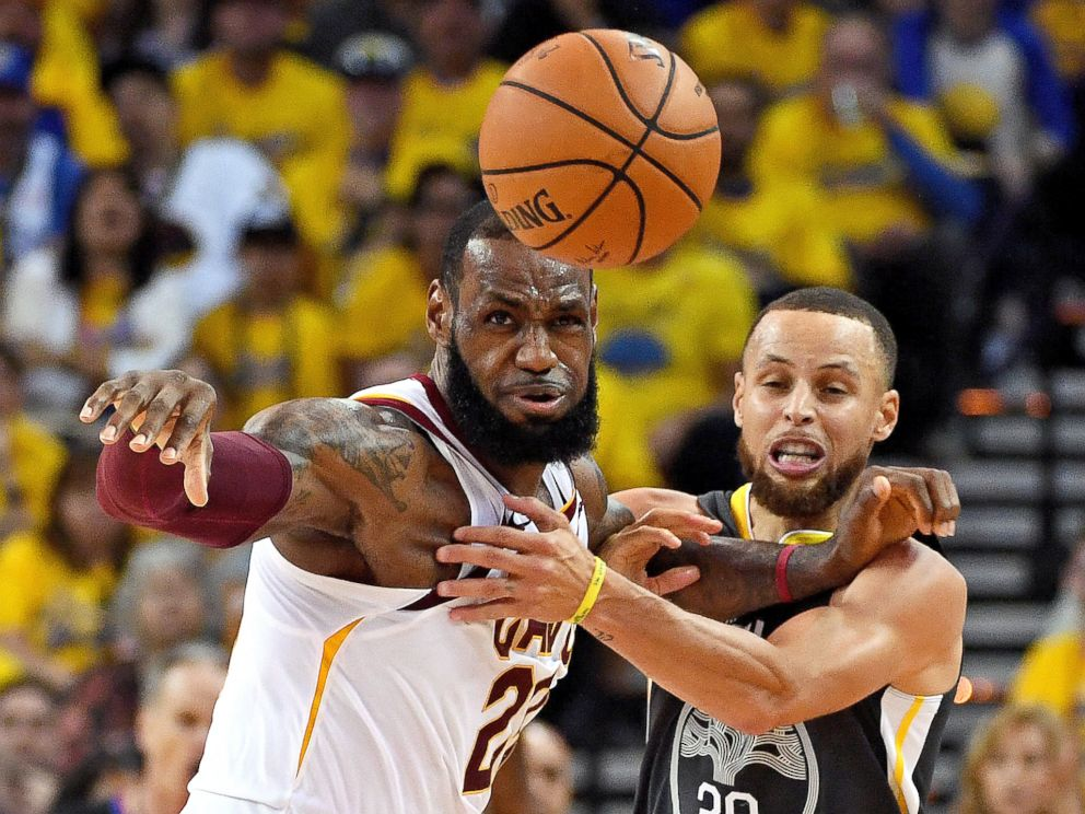 buy online 39d38 c4598 LeBron James says neither the Cavs nor Warriors will go to ...