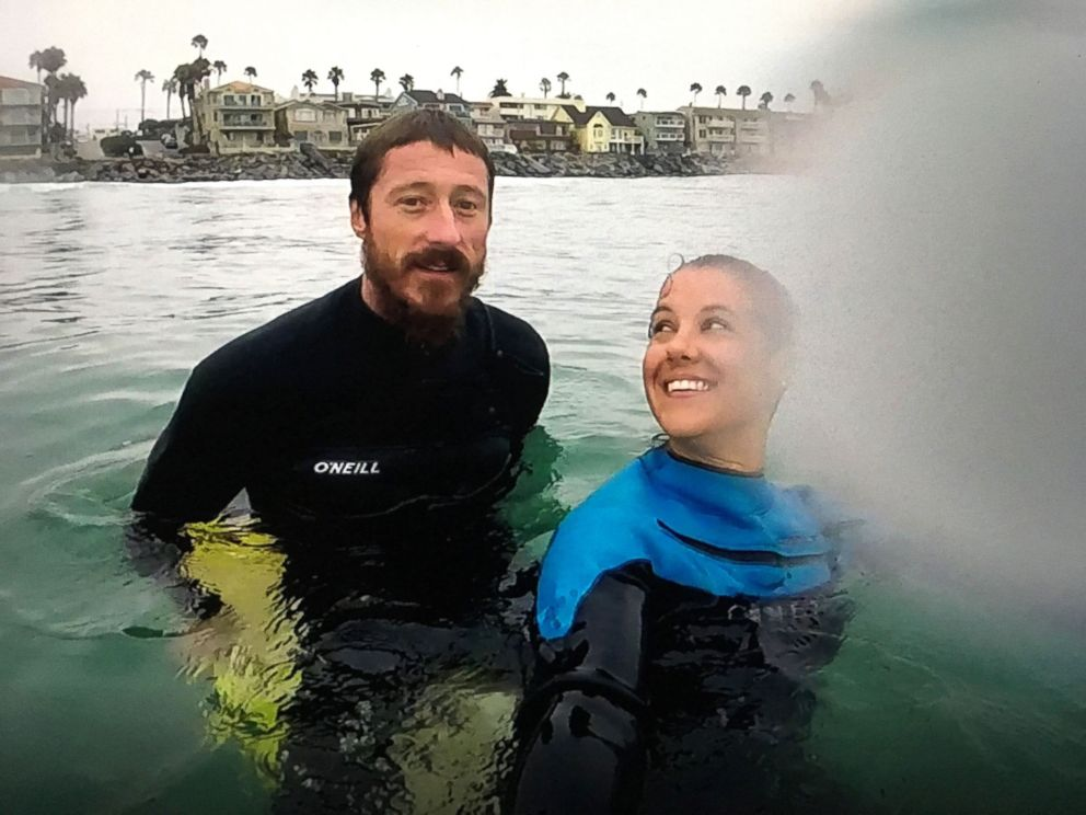 PHOTO: Leeanne Ericson was bitten by a shark earlier this year and opened up about the harrowing encounter in an exclusive interview with GMA.