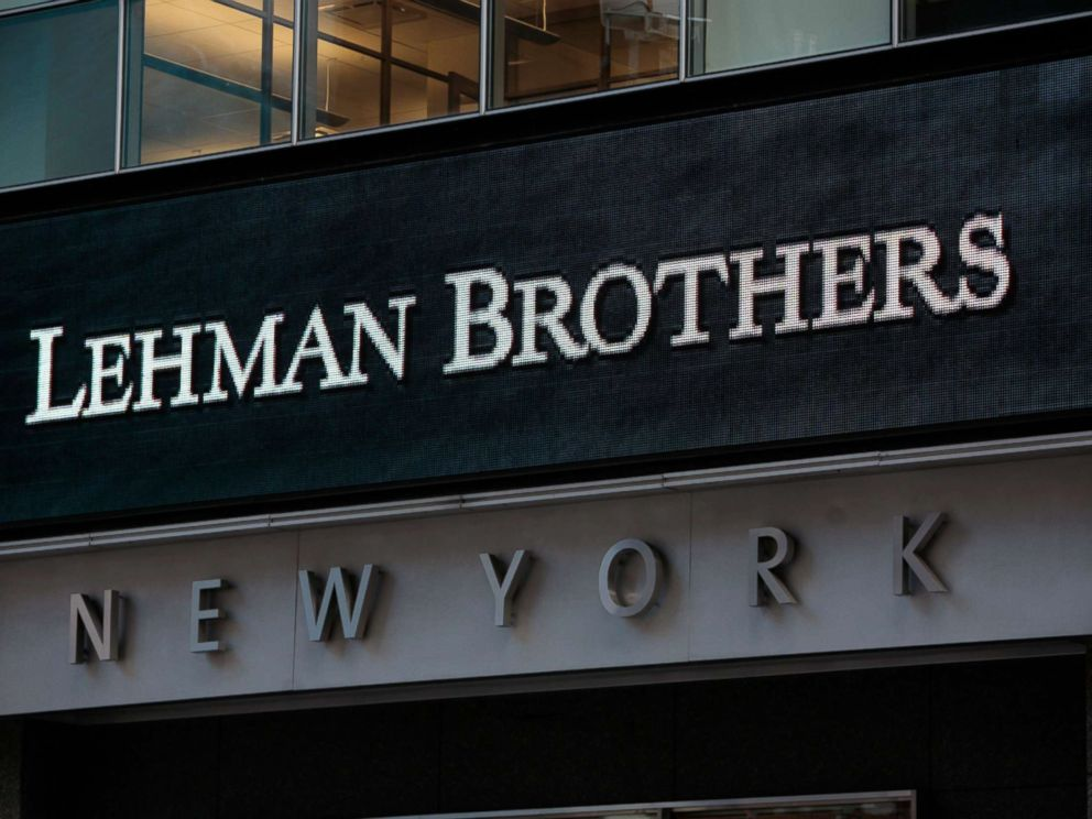 PHOTO: The sign for Lehman Brothers headquarters is seen in New York on Sept. 15, 2008.