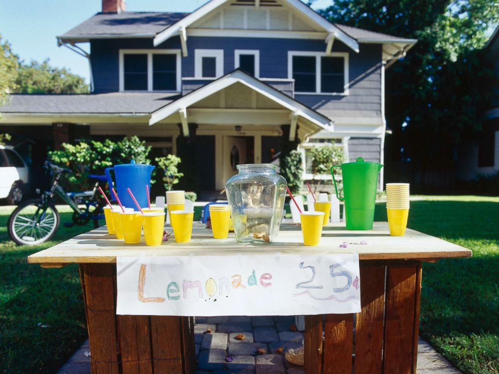 PHOTO: A lemonade stand appears in this undated stock photo.