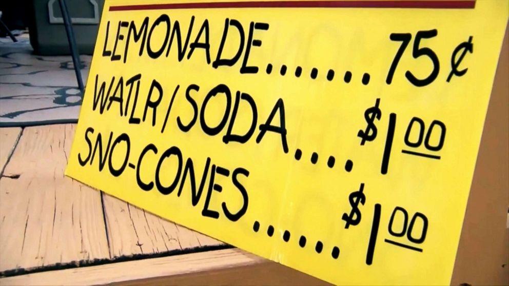 NY  state shuts down child's lemonade stand