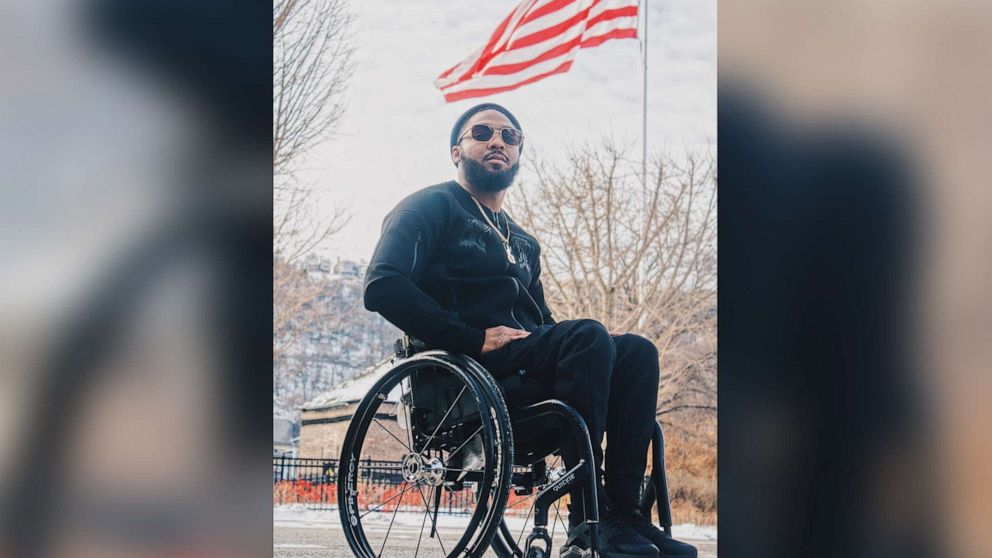 Black man paralyzed after police shooting on healing and his advice for Jacob Blake